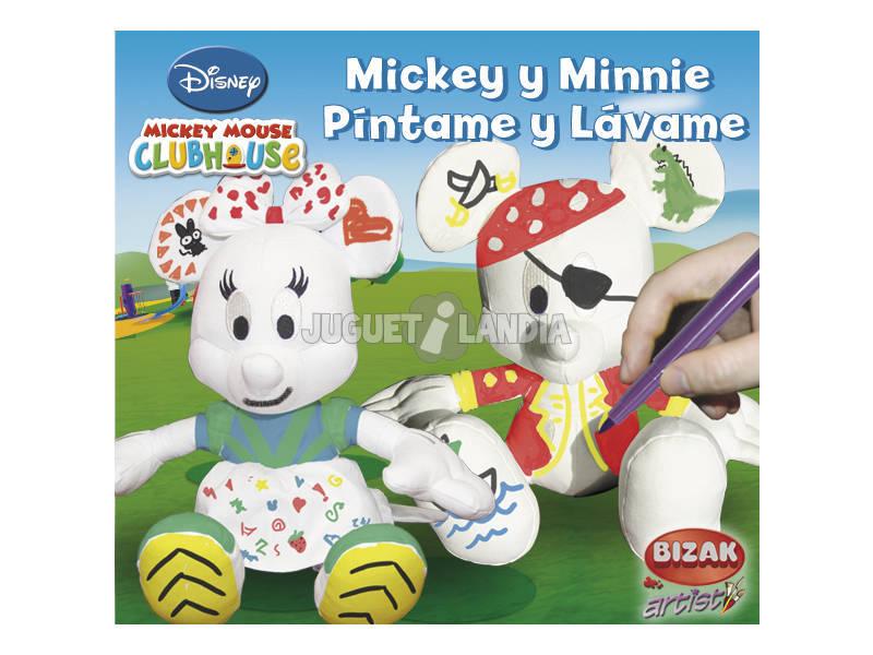 Pintame y lavame Mickey o Minnie