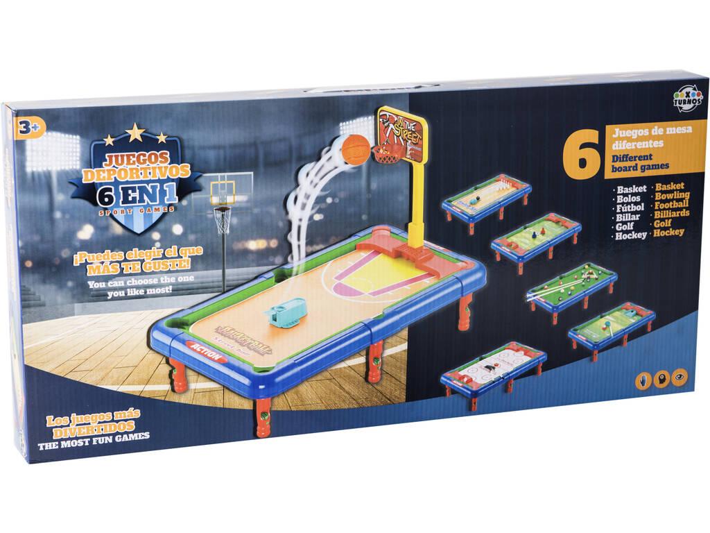 Giochi Sportivi 6 In 1