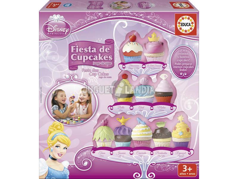 Fiesta Cup Cakes de las Princesas Disney