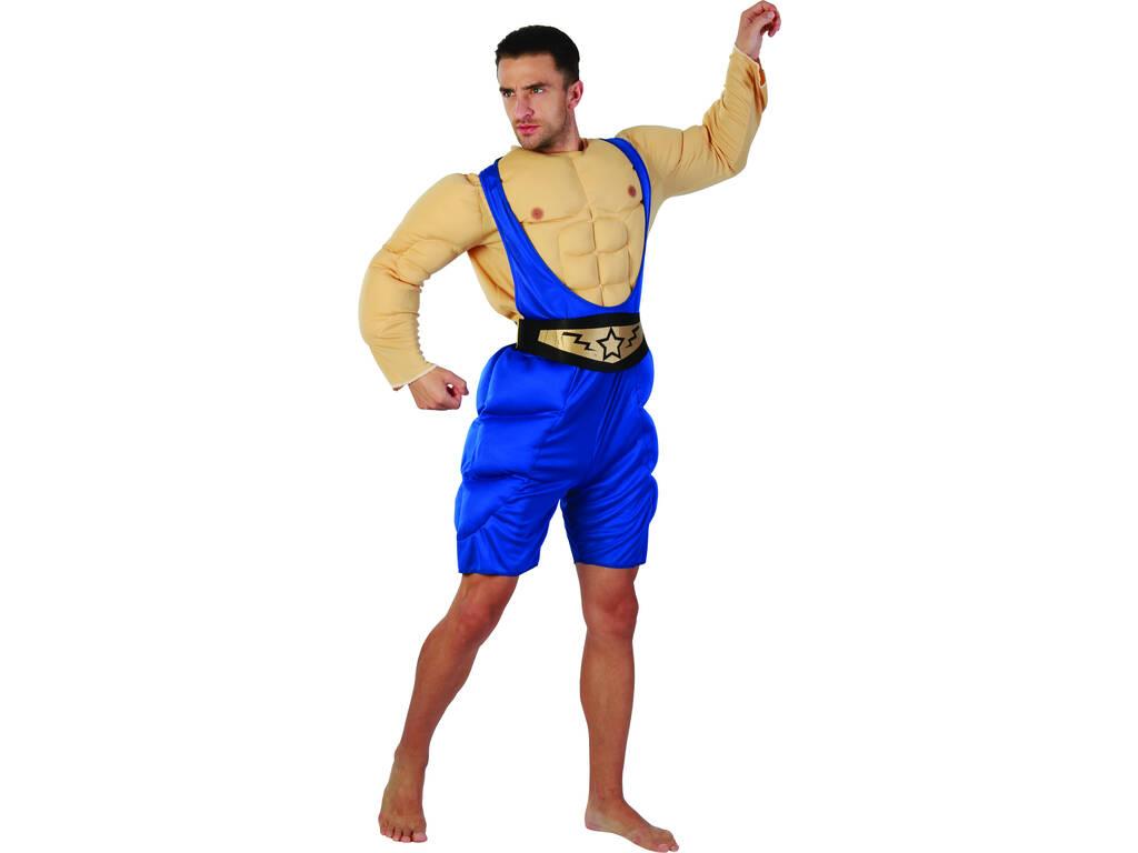 Disfraz Luchador Hombre Talla XL