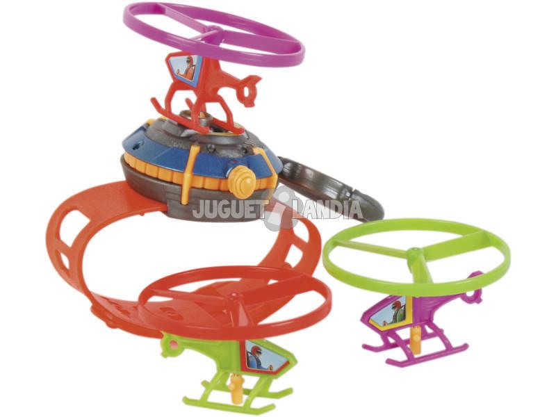Reloj Lanzador con 3 Helicopteros