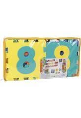 Puzzle Eva 2 En 1 Cubos-Numeros