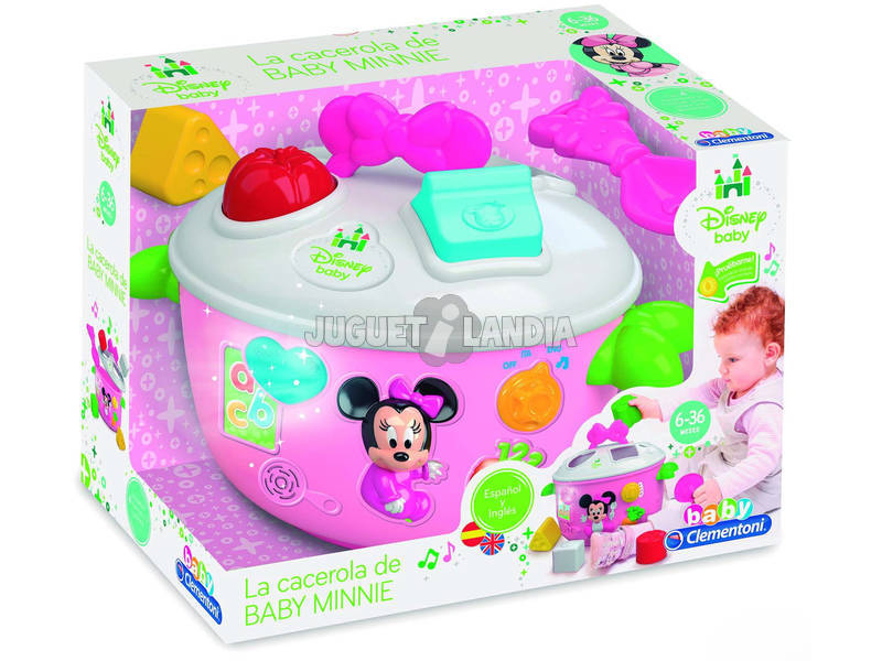 Baby Minnie Cacerola Formas y Colores