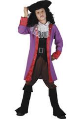 Déguisement de capitaine pirate pour garçon taille S