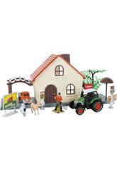 Granja de Juguete 12 piezas con Tractor y Camión