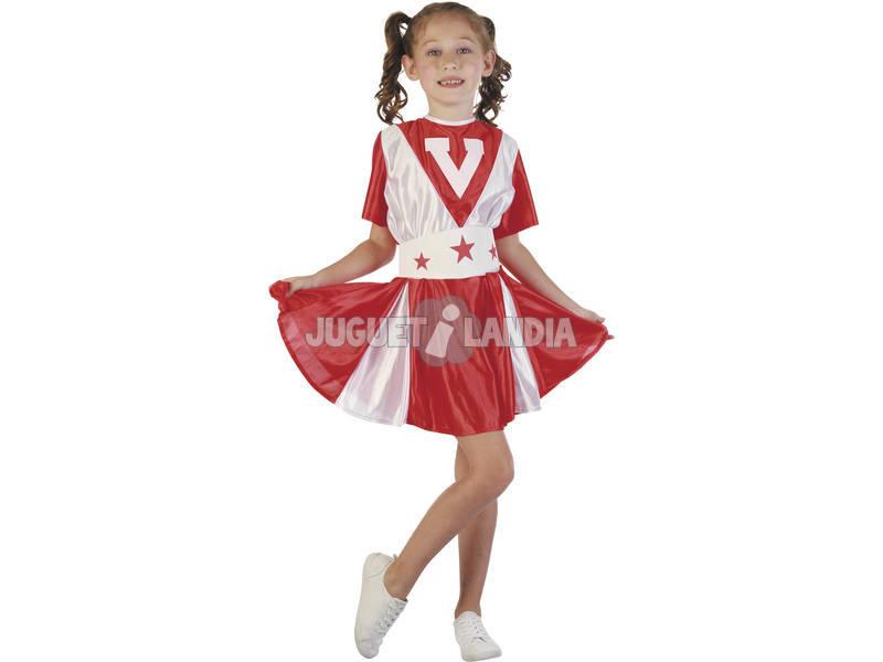 Disfraz Animadora Niña Talla L