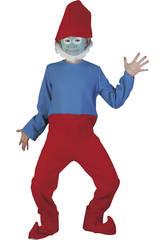 Maschera Gnomo Rosso Bambino Taglia S