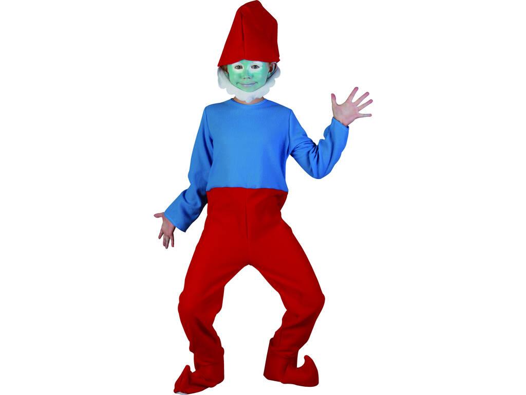 Disfraz Gnomo Rojo Niño Talla M