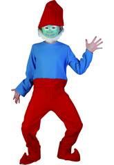 Disfraz Gnomo Rojo Niño Talla L