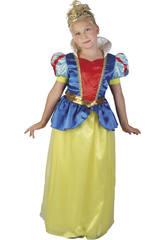 Disfraz Princesa de las Nieves Niña Talla M