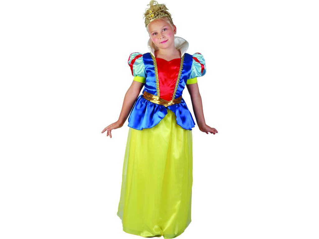 Maschera Principessa delle Nevi Bambina Taglia L