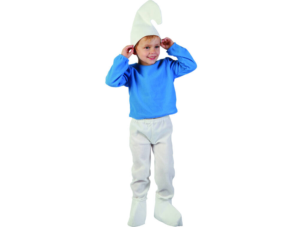 Disfraz Elfo Azul Bebé Talla M