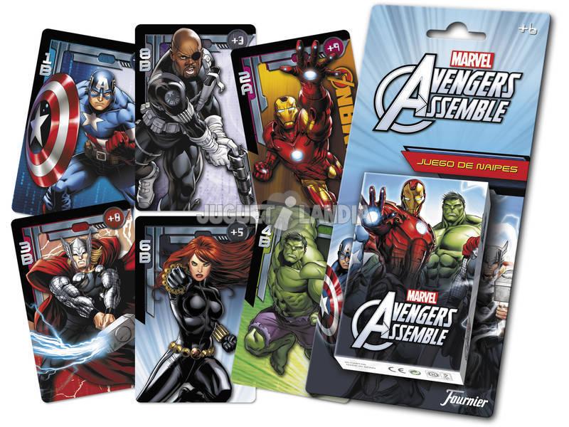 Baraja Infantil Avengers Juguetilandia