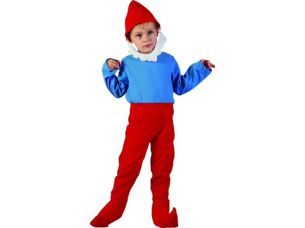 Costume Gnome Vermelho Bebê Tamanho S