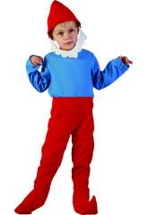 Disfraz Gnomo Rojo Bebé Talla M