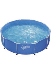Piscine Frame Pool Set avec Couverture 305x76 cm.