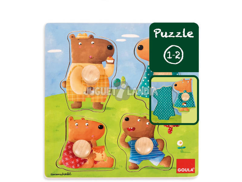 Puzzle Familia Ursos