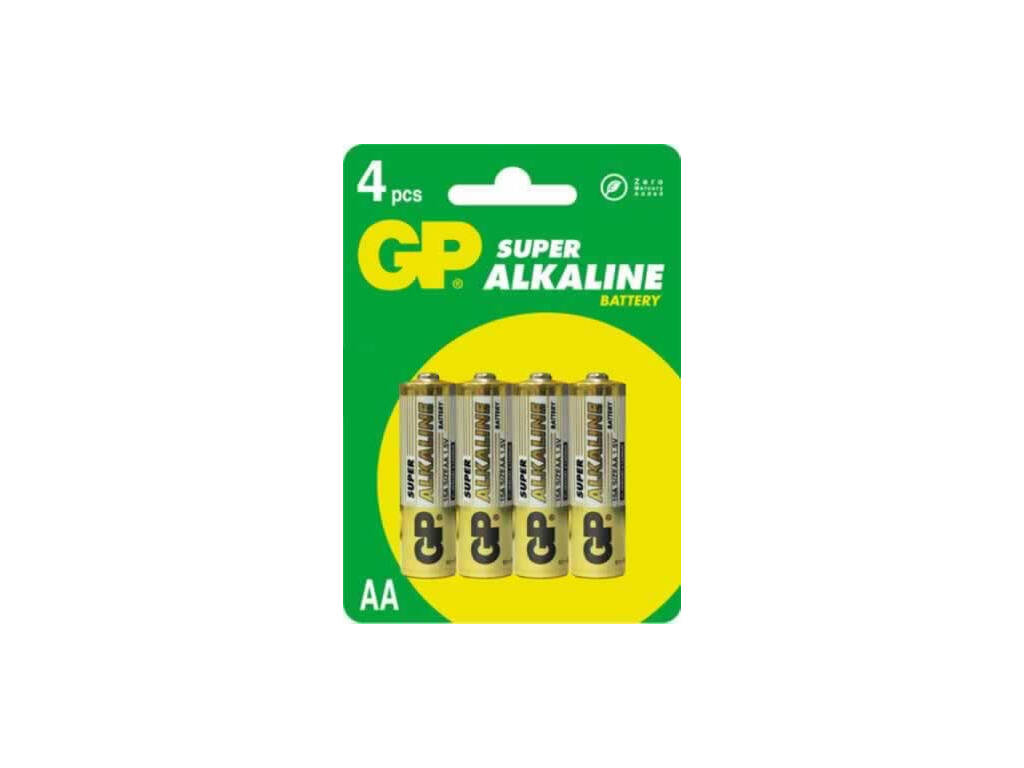 Blister 4 pilas R6/AA Alcalinas G.P