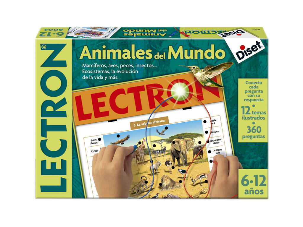 Lectron Animales del Mundo