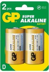 Blister 2 pilas R20/D Alcalinas G.P