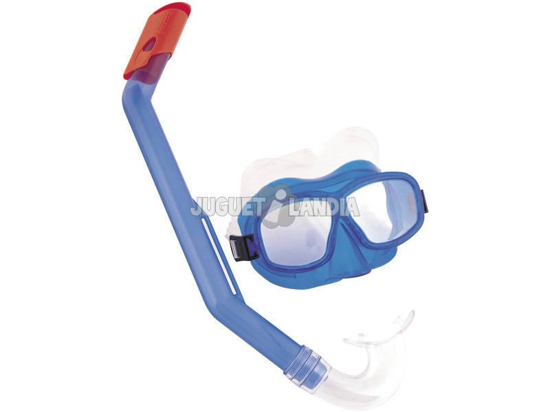 Maschera subacquea con boccaglio Grigia