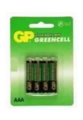 Blister 4 Batterien R3/AAA Salinas G.P