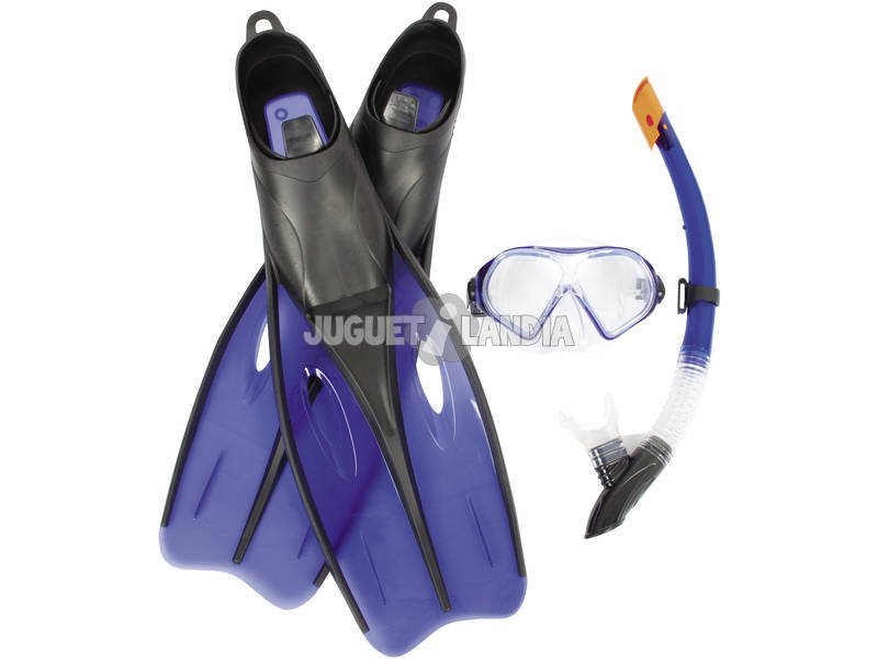 Set Buceo Dream Adulto Talla 40-42 Bestway 25022