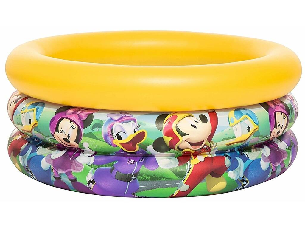 Piscina Hinchable Bebé Mickey Y Los Superpilotos 70x30cm. Bestway 91018