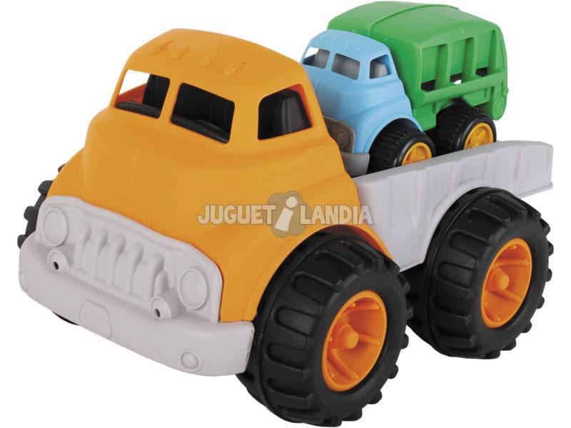 Camion de Pastique avec Petit Camion