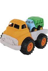 Camión de Juguete de Plastico con Camión Pequeño