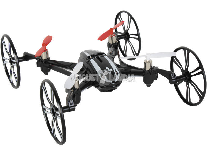 Radio Control Dron Quadcopter Planet 13 cm.