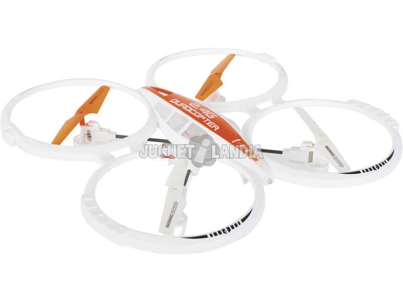 Radio Control Dron Quadcopter Aircraft 2.4 GB 35cm