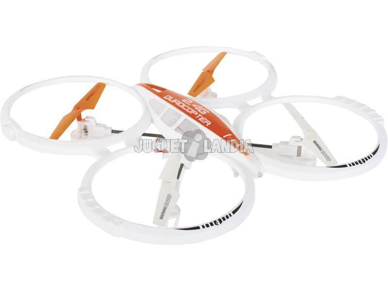 Drone Quadcopter Aircraft 2,4 GB 35 cm radiocomandato