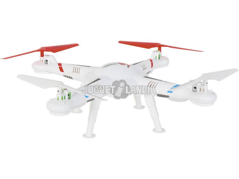 Radio Control Dron Quadcopter Jumbo 48cm.