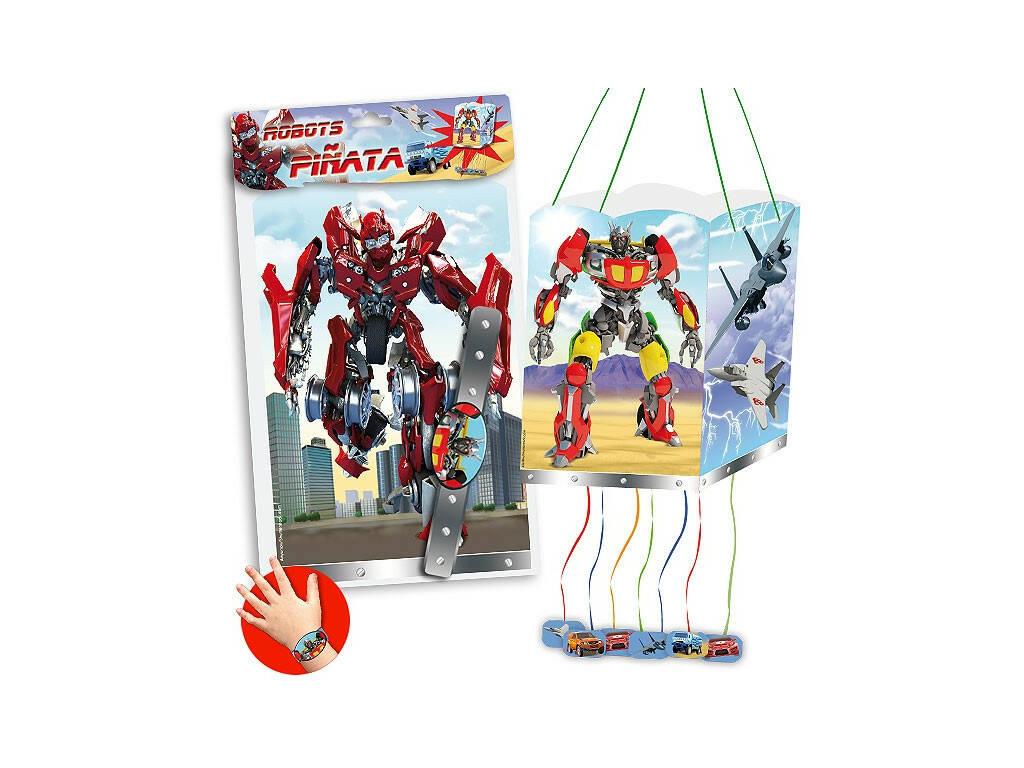 Borsa Pignatta Robot 4 Facce