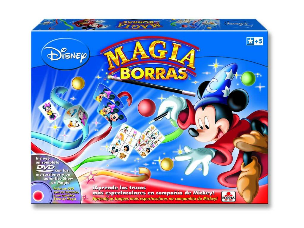 Jogo de tabuleiro Magia Borras Mickey DVD Educa 14404