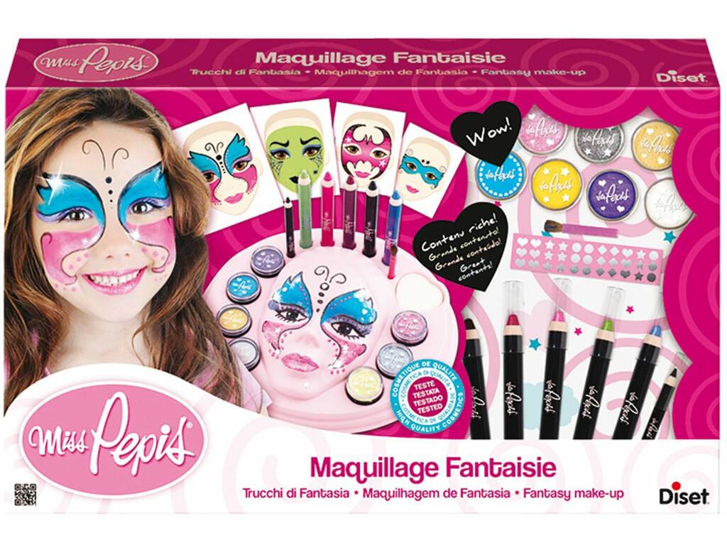 Maquiagem Fantasia Miss Pepis