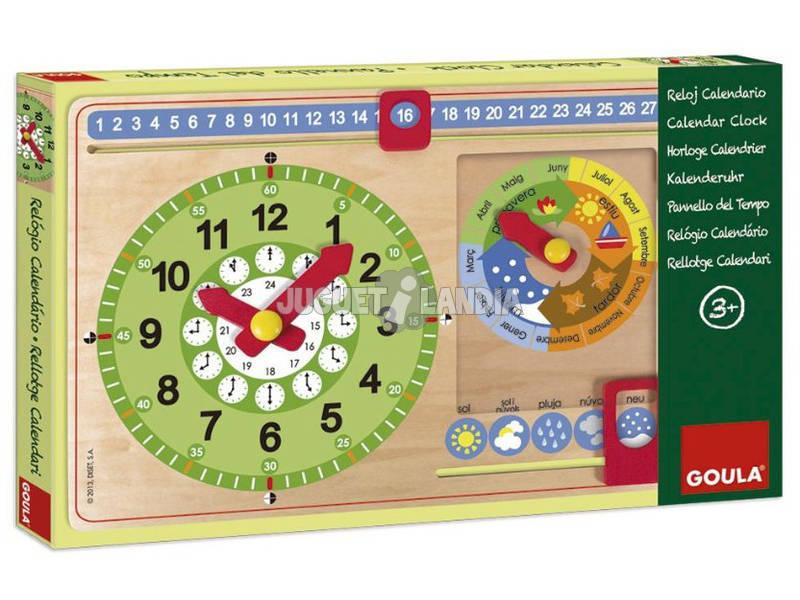 Relógio Clendário Catalão