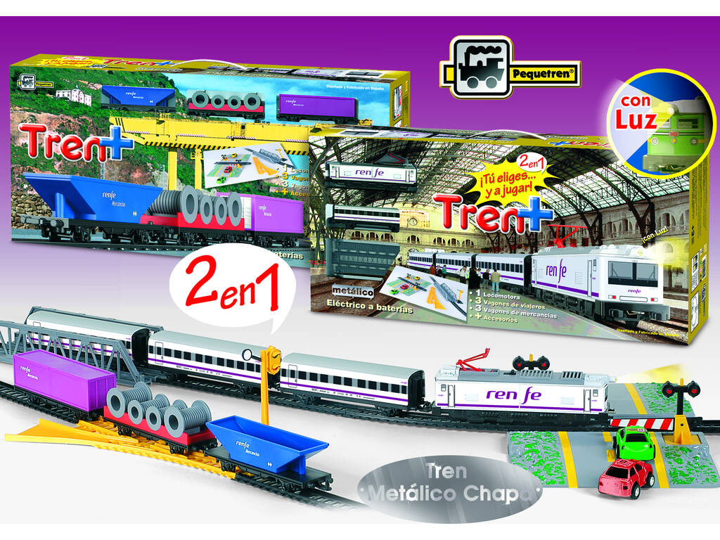Tren de viajeros y mercancias Renfe