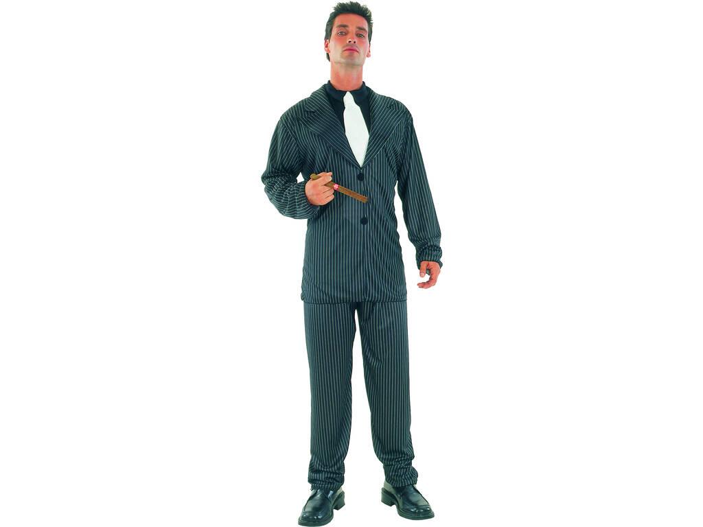 Disfraz Gangster de Hombre Talla XL