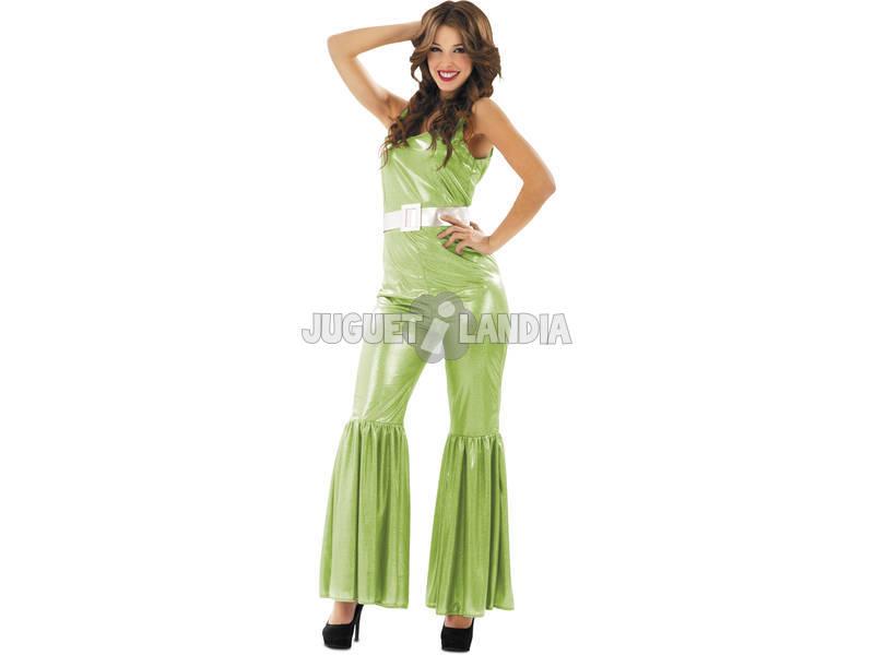 Disfraz Mujer L Disco Verde