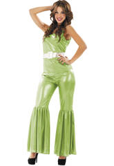 Maschera Donna L Disco Verde