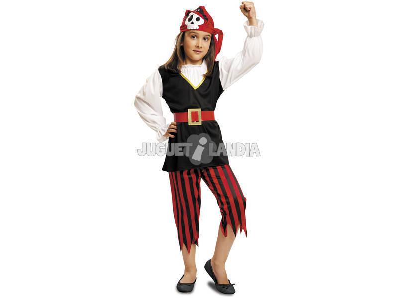 Disfarce Menina M Pirata Caveira