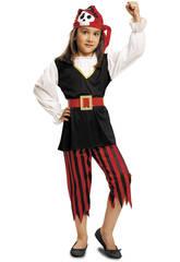 imagen Disfraz Niña M Pirata Calavera