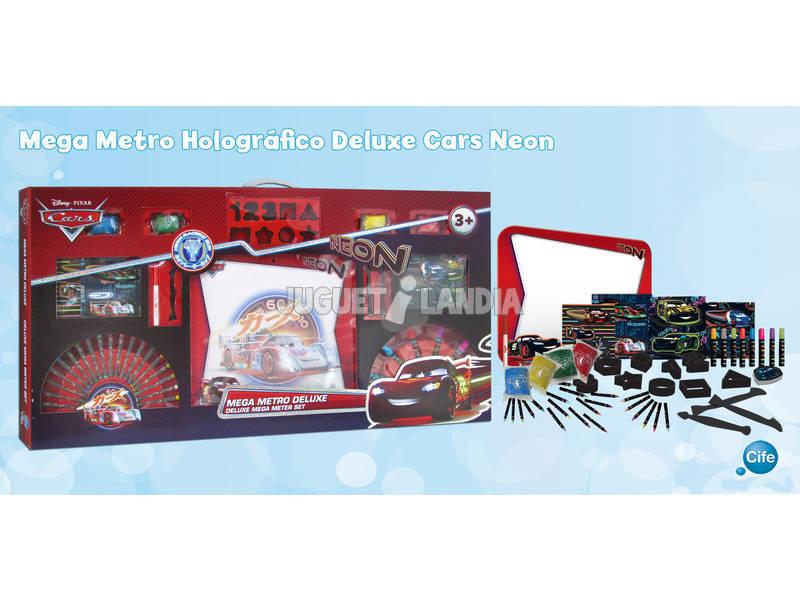Mega metro Deluxe Holografico Cars Neon