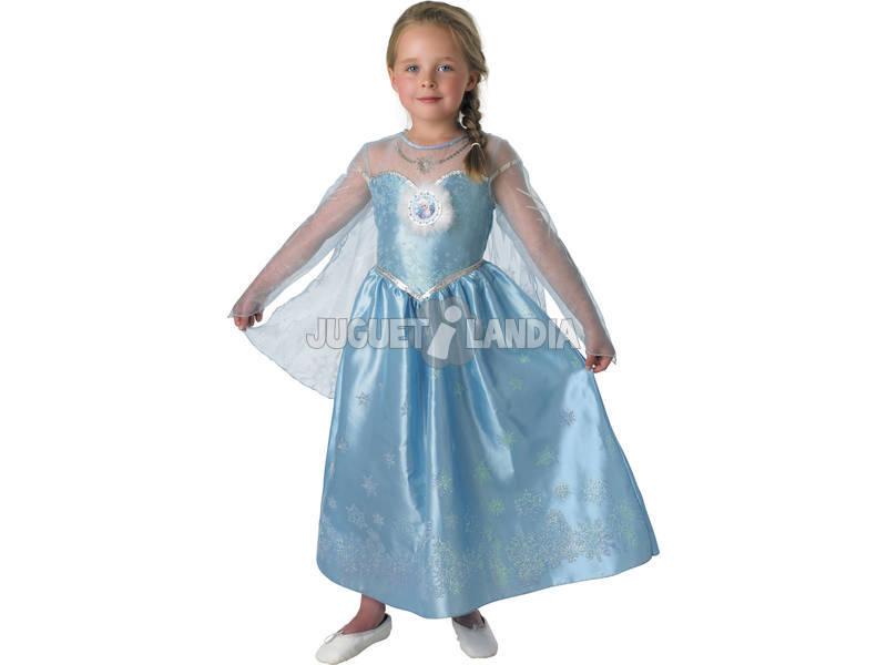 Déguisement Fille Elsa Deluxe T-M