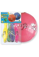 Sac de 4 ballons punch ball