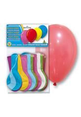 Borsa di 24 palloncini color pastello opaco