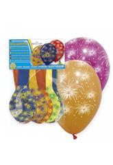 Borsa da 8 palloncini fuochi d'artificio