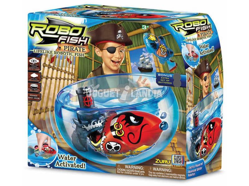 Robofish acuario Pirata